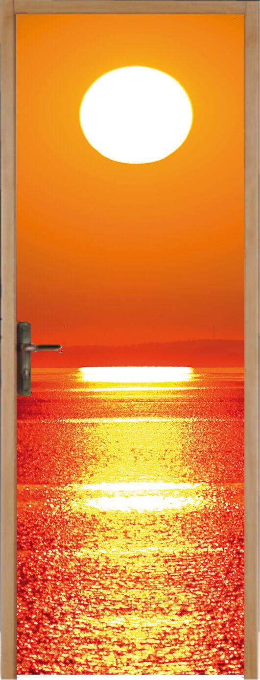 Adesivo per porta tramonto tramonto 63x204cm ref 168