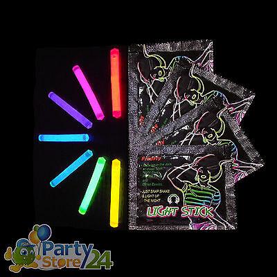 Knicklicht Ministick Neon Light Glow Stick Junggesellenabschied Party Bauchladen