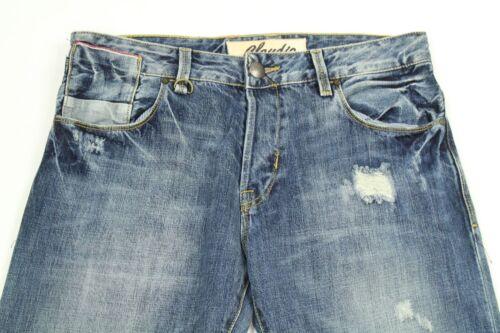 Bottoni Sdrucito Jeans Milano Fly Claudio Dritto Uomo xXqHBnw61