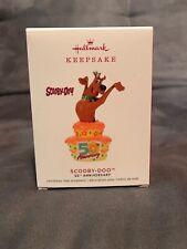 Scooby-doo 50th Anniversary 2019 Hallmark Keepsake Christmas Ornament