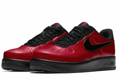 uważaj na Trampki 2018 wyglądają dobrze wyprzedaż buty Nike AF1 Air Force 1 Foamposite Pro Cup Gym Red Black AJ3664-601 Mens Multi  Size