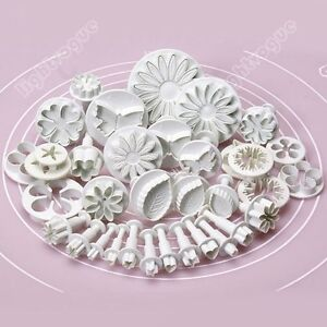 8-33-46-47pcs-Set-Sugarcraft-Cake-Decorating-Fondant-Icing-Plunger-Tool-Mold-WA