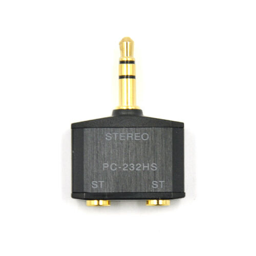 Sony 3.5mm Male to Dual 2x3.5mm Female Stereo mini Jack Y Splitter Audio Adapter