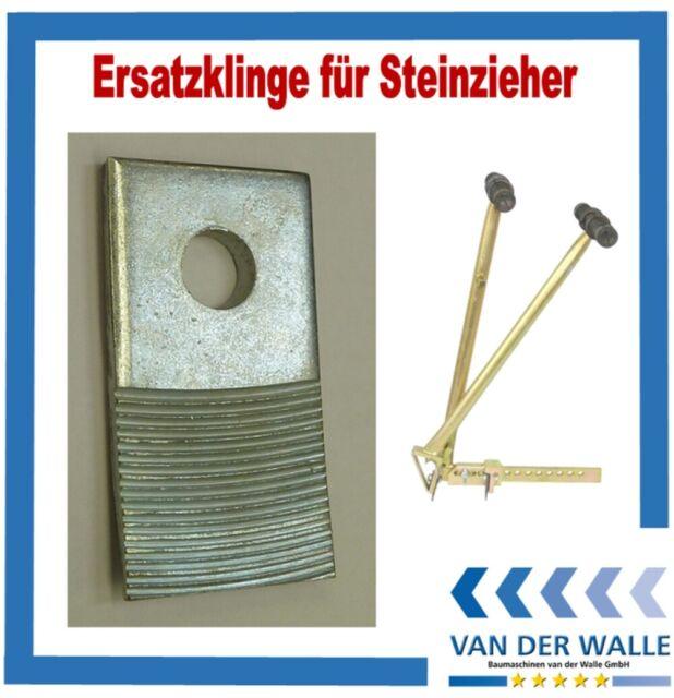 Ersatzmesser-Paar für Steinzieher Pflastersteinzieher Steingreifer Pflasterstein