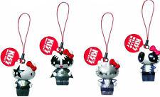 Kiss Hello Kitty Danglers Llavero Encanto Del Teléfono De Mecheros Set De 4 Cabezas con organismos