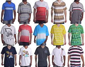 Ecko-Unltd-Men-039-s-Classic-Mix-amp-Match-V-Neck-Tee-Shirt-Choose-Size-amp-Color
