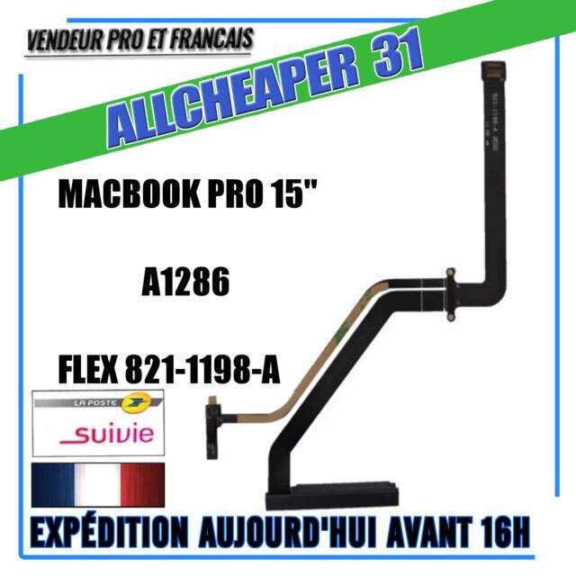 "Connector Plate Hard Drive SATA Macbook 15 "" A1286 Hflex Connector 821-1198-A"
