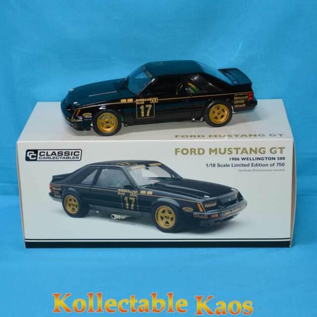 1:18 Classics - 1986 Wellington 500 - Ford Mustang GT - Johnson/Crichton 18697