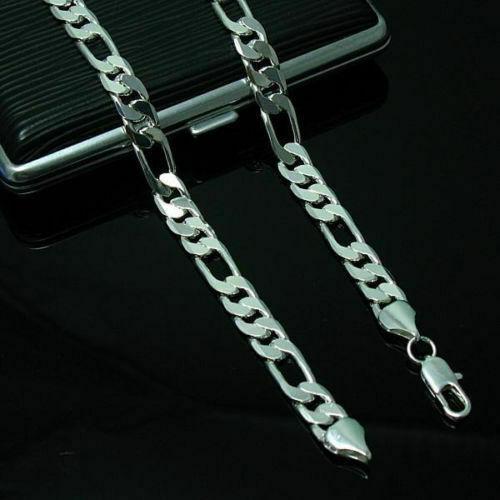Fashion 4MM Chain Men Necklace 16-24 inch