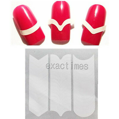 Prefect French Manicure Edge Tip Guides Strip Nail Art Toes Manicure