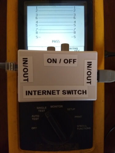 Internet On Off  Switch Disconnect/'s /& Isolates INTERNET
