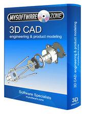 3D CAD - Mechanical Engineering & Product Design Modeling Modelling Software CD