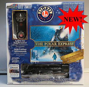 LIONEL-THE-POLAR-EXPRESS-LIONCHIEF-STEAM-TRAIN-SET-BLUETOOTH-O-GAUGE-6-84328-NEW