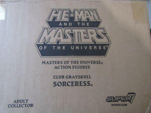 Super 7 MOTU Club Grayskull Masters of the Universe Sorceress Case Fresh