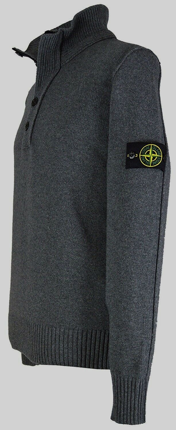 STONE ISLAND HALF BUTTON JUMPERS