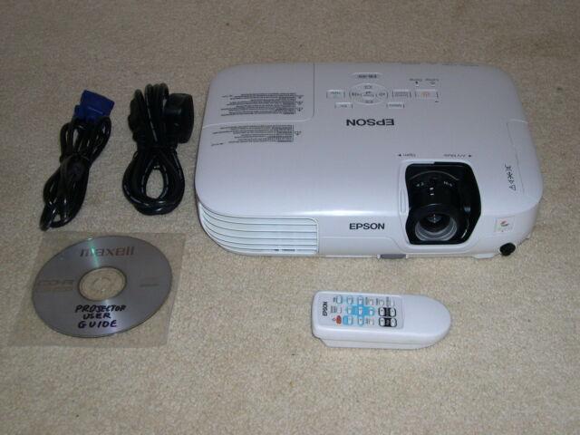 EPSON EB-X9 XGA Projecteur LCD données/VIDÉO/HD-Ready HDTV POWERLITE projecteur