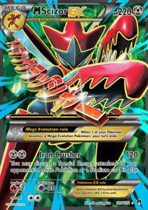 Pokemon Scherox EX XXL Karte 76//122 Full Art Deutsch Neu