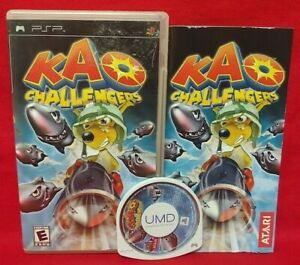 Kao-Challengers-Sony-PSP-Complete-Game-Playstation-Portable-Tested-Working