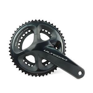 Shimano Ultegra FC-R8000 2 x 11 speed 50-34T 172.5mm Road TT Bike Crankset (OE)