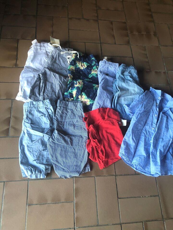 Blandet tøj, Shorts , k/æ skjorte