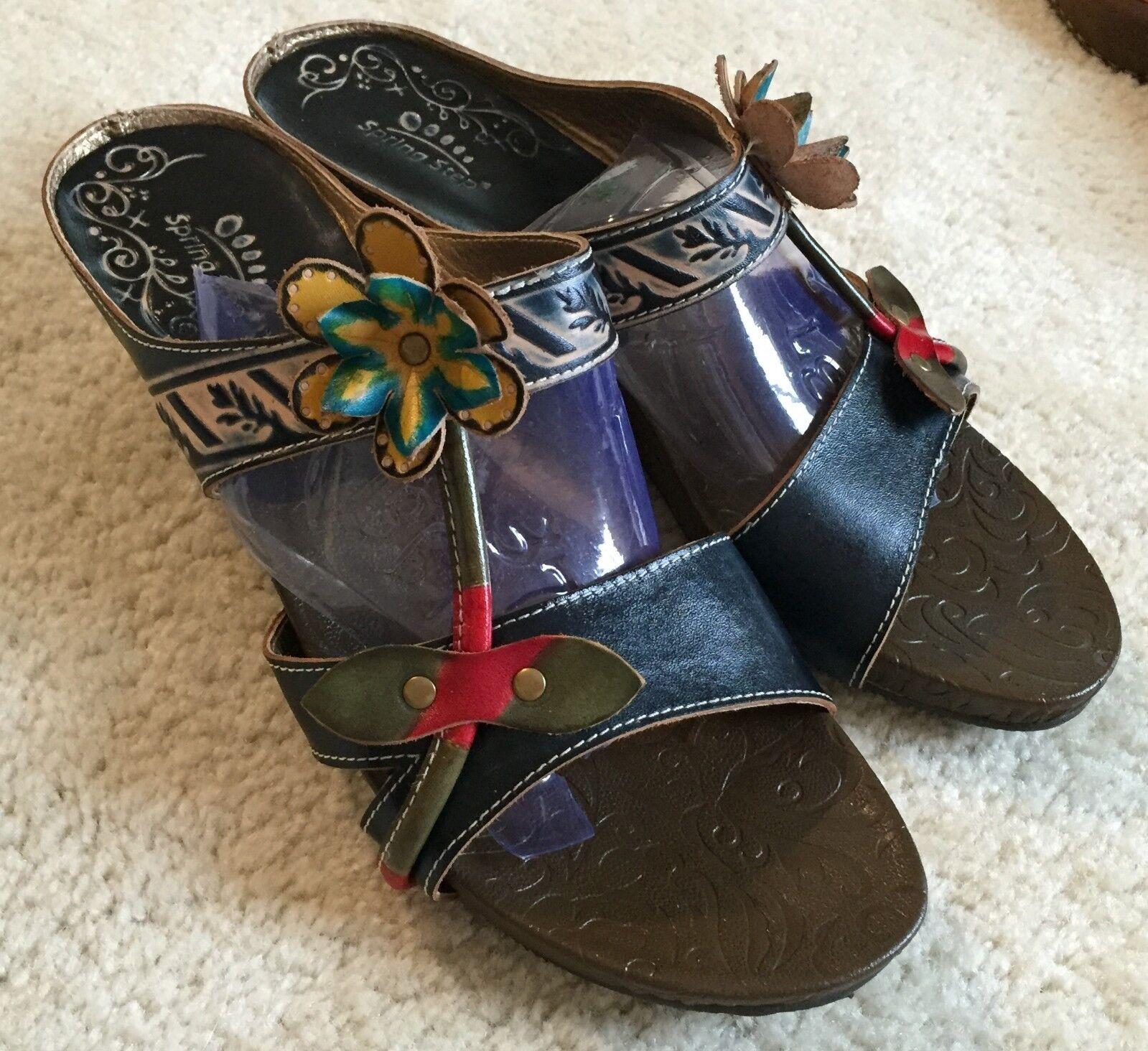 Women's Spring Step Tropic Wedge 10 Sandals  41 / 10 Wedge - 10.5 M  $70 c0c931