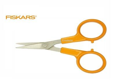Fine Blade 9881 Fiskars 13cm Classic Needlework Scissors Sharp Micro Tip