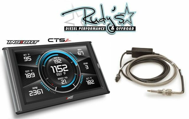 Edge Cts2 Monitor >> Edge Products Insight Cts2 84130 Touch Screen Monitor Gauge Includes Egt Probe