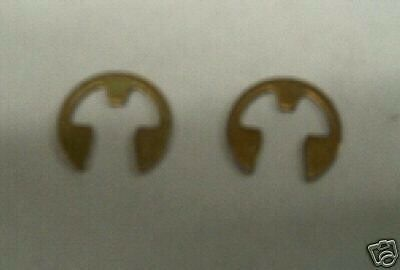 Holley Accelerator Pump Arm E Clips; Also Avenger B//G Demon AED /& QFT Carbs