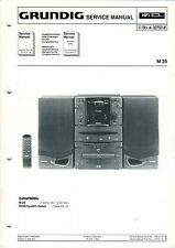 Grundig Service istruzioni manual M 25 b800