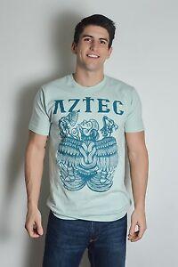 NEW-MEN-S-AZTEC-RITUAL-ORIGINAL-AMERICAN-APPAREL-2001-GRAPHIC-T-SHIRT