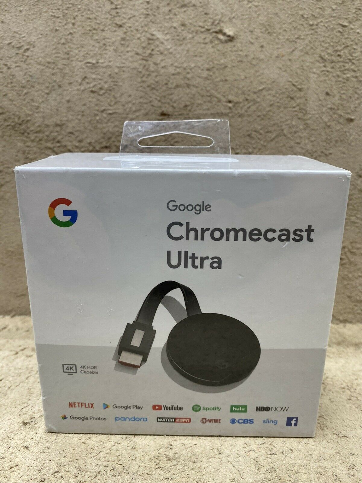 NEW Google -Chromecast Ultra 4K Streaming Media Player-Black google media new streaming ultra