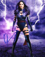 Olivia Munn X-Men Autographed Signed 8x10 Photo COA #1