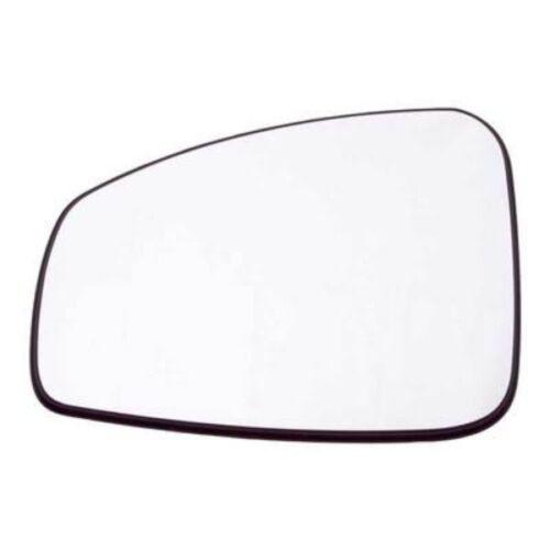 Replacement Passenger Side NS Left Door Wing Mirror Glass Renault Megane 08-13