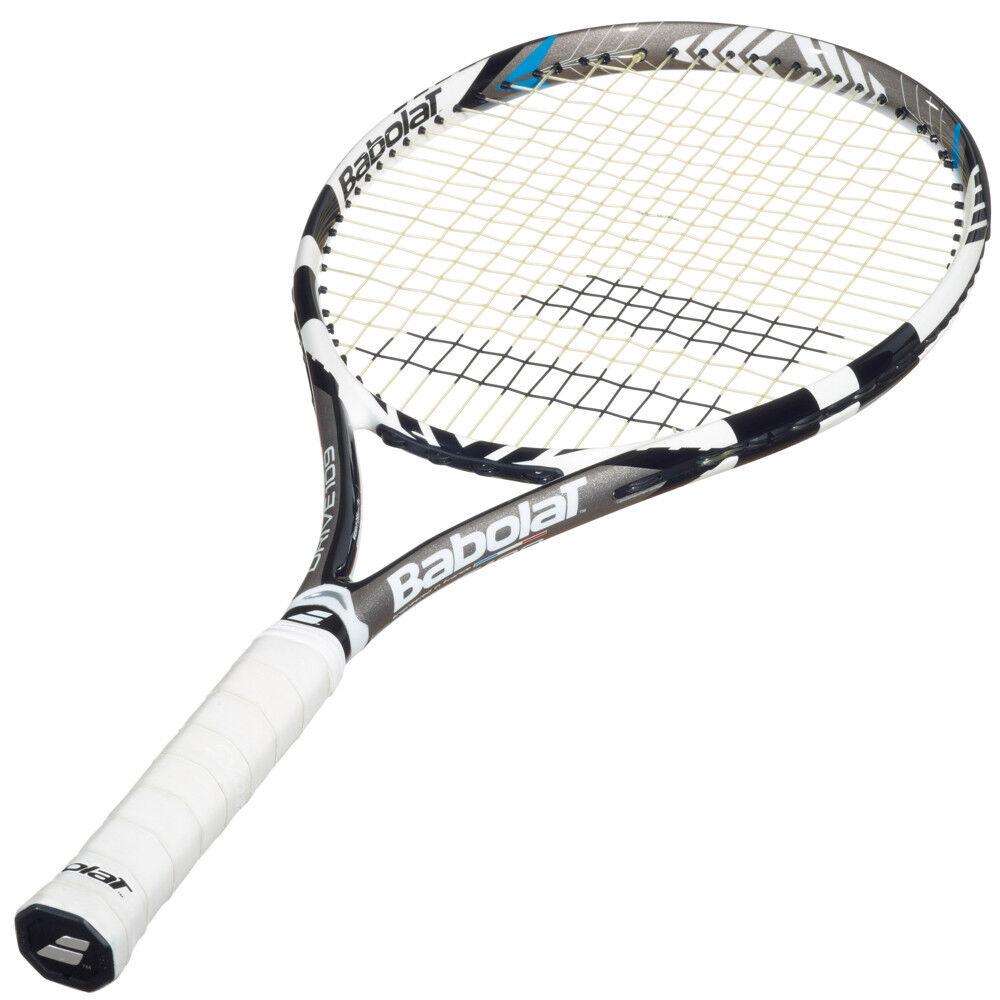 BABOLAT DRIVE 109 Racchetta da tennis PLUS GRATIS 3x tramite grip e un rullo Umidificatore