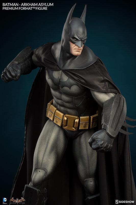 STATUE BATMAN ARKHAM ASYLUM - PREMIUM FORMAT - DC COMICS SIDESHOW - EN STOCK