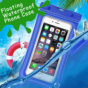 first rate 6fea6 61409 Details about Floating Waterproof Bag Swimming Pouch Dry Case Cover For  iPhone X/8 Cell Phone