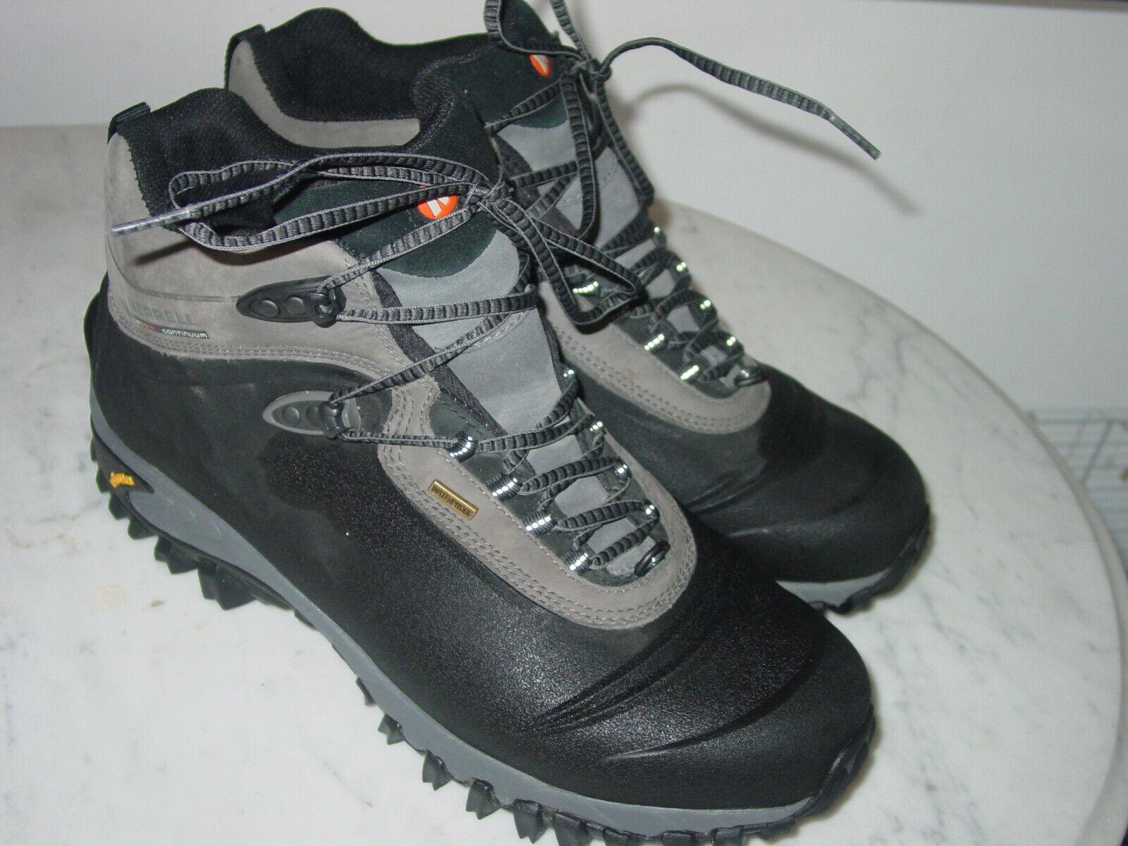Para Hombre Merrell Thermo 6  200G Negro J82727 Impermeable botas De Invierno