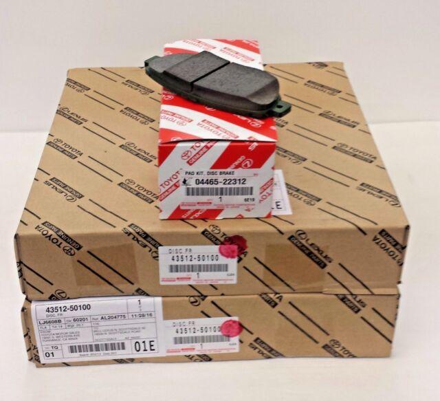 04465-22312 LEXUS OEM FACTORY FRONT BRAKE PAD SET 2001-2005 IS300