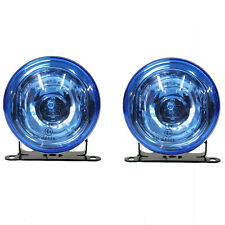 Blue Front Fog Lights Fits Suzuki Vitara Swift Jimny 90mm E-Marked H3 12v 55w