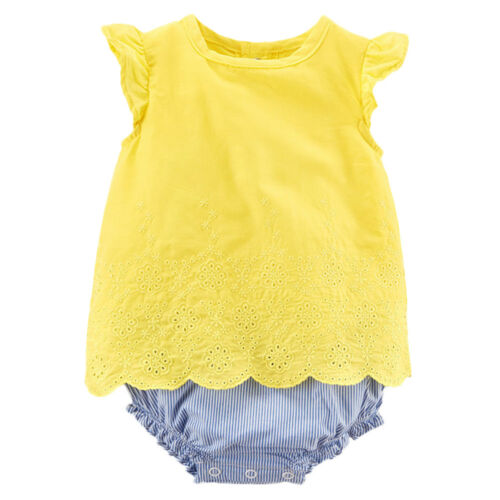 New Carter/'s Baby Girls/' All Ocassion One or 2 Pc Summer Sunsuits Dresses Sets