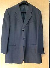 ERMENEGILDO ZEGNA SOFT Gray Woven Wool SUIT Pants Coat Mens Jacket