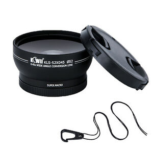 0-45xWide-Angle-amp-Macro-Lens-for-Fujifilm-X-Pro2-1-X-T2-1-X-T20-T10-with-52mm-Lens