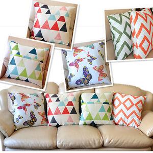 Cushion Cover Home Decor Throw Pillow Case Square New 45 x 45cm