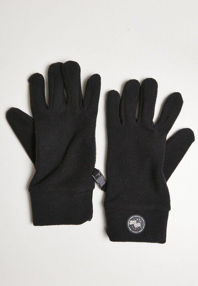 Urban Classics Handschuh Hiking Polar Fleece Gloves Black