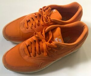 Details about Nike Air Max 1 Mandarin Total Orange Size 10 Retro Tennis Ball Sneakers