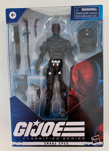 "G.I. Joe Classified Series Snake Eyes 6"" Action Figure Wave 1"