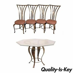 Exceptional Image Is Loading Mid Century Modern Shaver Howard Steel Dining Set