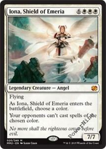 1 FOIL Iona, Shield of Emeria - White MM15 Modern Masters 2015 Mtg Magic Mythic