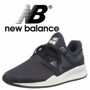 Details about NEW BALANCE 247 Women's Navy Trainers Casual Mesh Sneakers