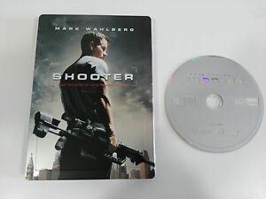 SHOOTER-DVD-STEELBOOK-ENGLISH-DEUTSCH-GERMAN-EDITION-EXTRAS-MARK-WAHLBERG-AM